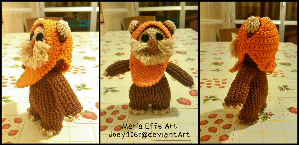 Ewok amigurumi by Joey106r on DeviantArt