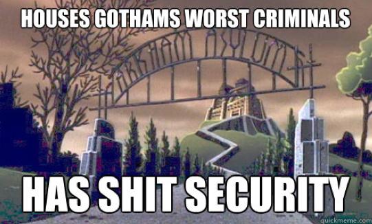 Arkham Asylum meme by Jazzlednightmare16