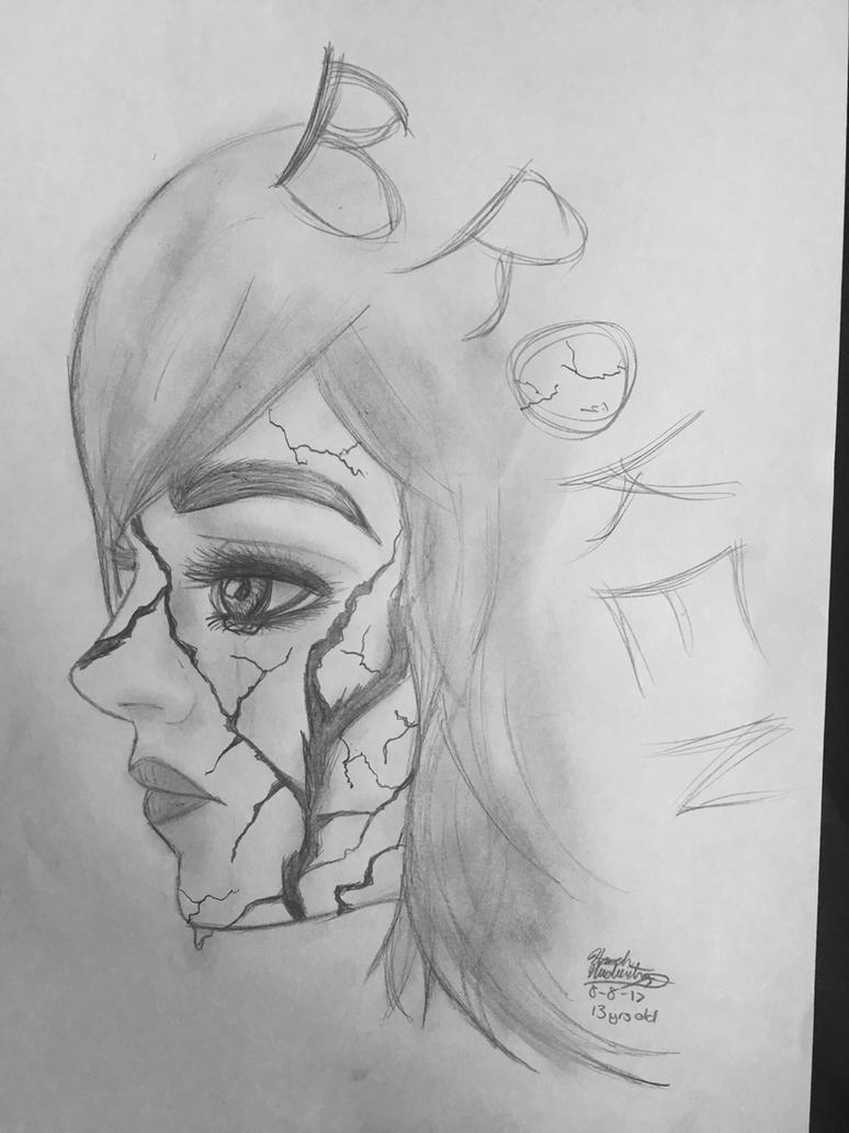 broken girl by motorhannah on deviantart
