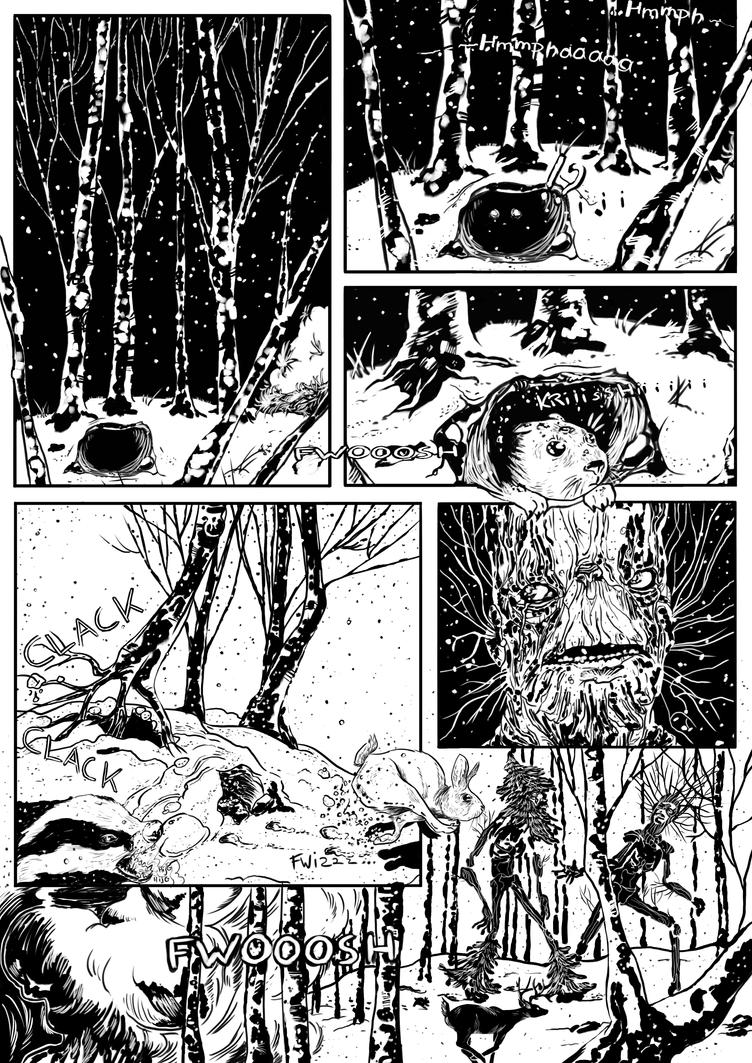 Forest nightmare by FKiekens
