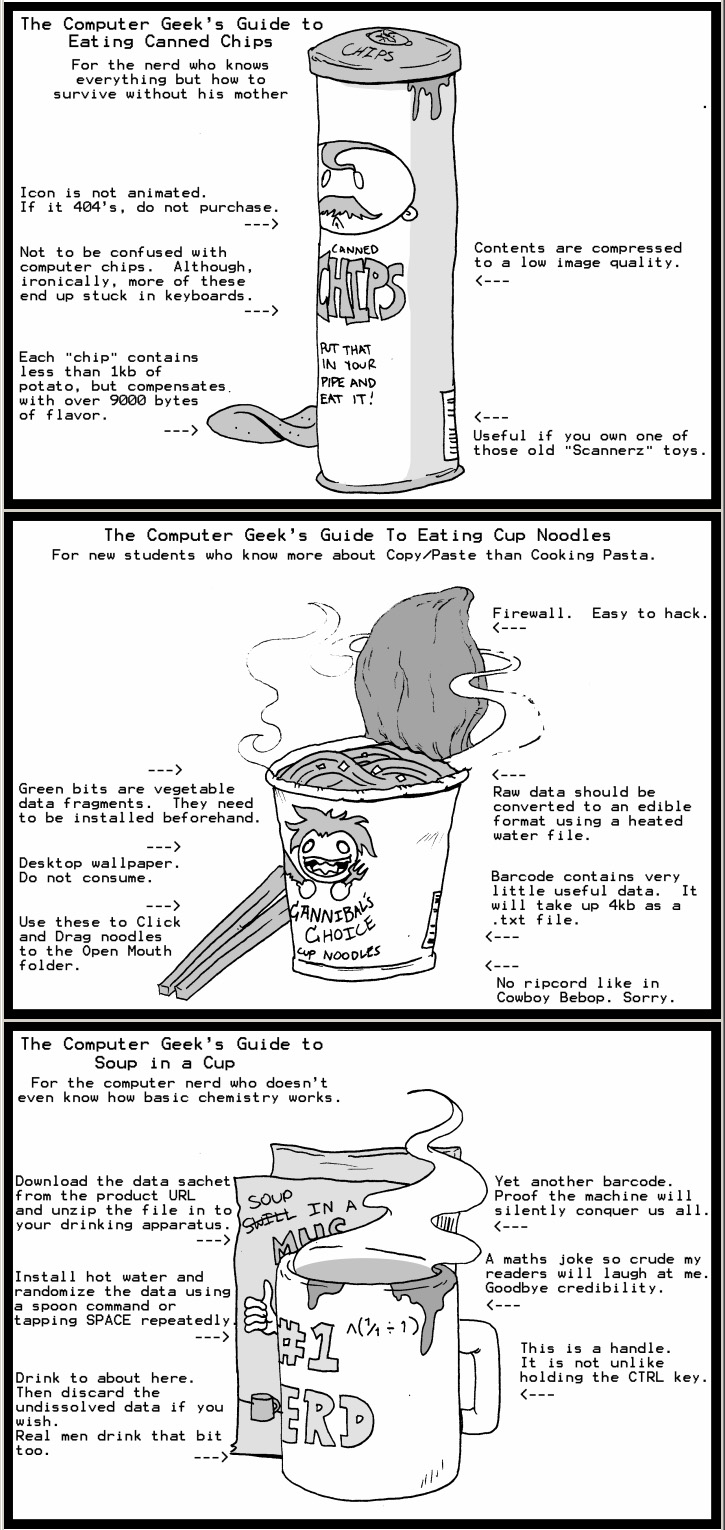 Nerds Survival Guides by Cannibal-Cartoonist