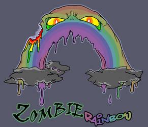 Zombie Rainbow by mjwills