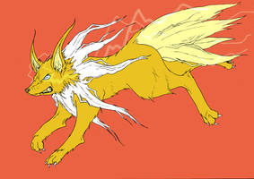 Jolteon by mjwills