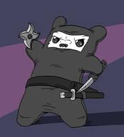Ninja Bear by mjwills