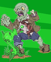 Plants Versus Zombies by mjwills