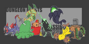 Dungeon Beasts by mjwills