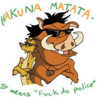 Hakuna Matata by mjwills