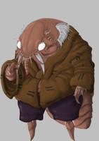 Myoga the Flea Demon by mjwills