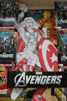 I Draw Avengers At Work by mjwills