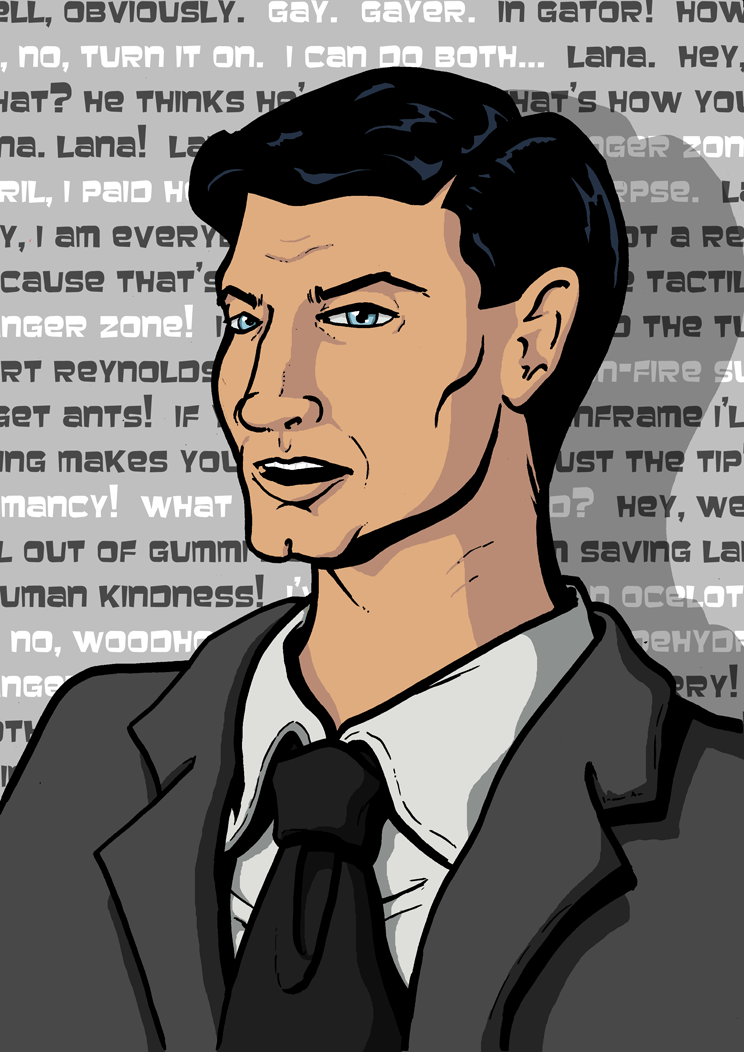 The gallery for --> Malory Archer Voice