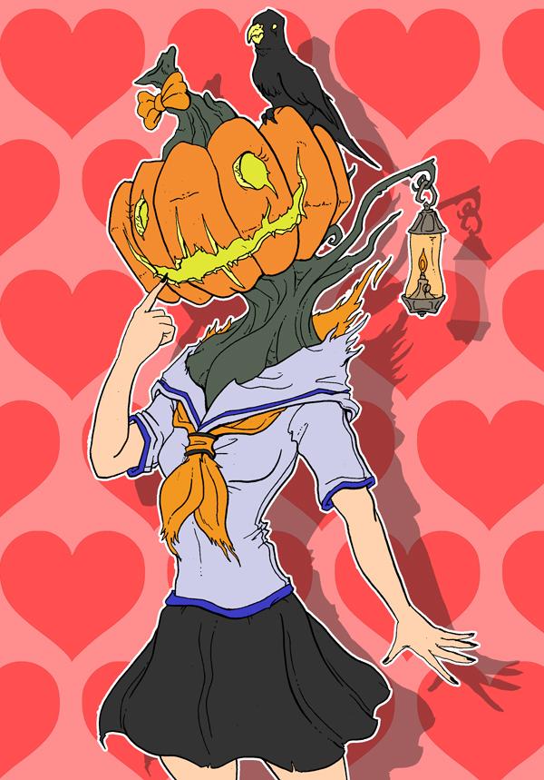Disquieting High - Jill O Lantern by Cannibal-Cartoonist