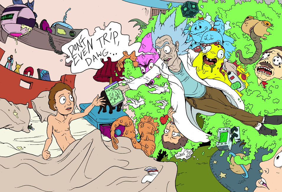 Rick and Morty Foreverish by Cannibal-Cartoonist