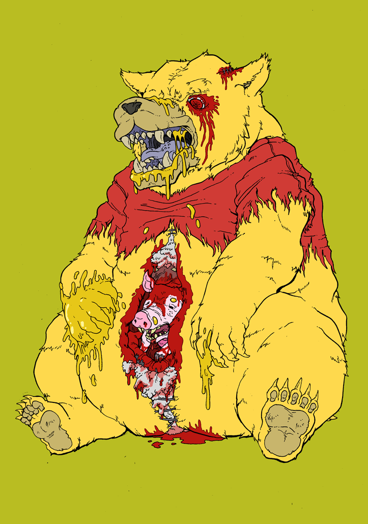 The Horrors of the Hundred Acre by Cannibal-Cartoonist