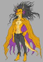 Ironic Dragon Fursona by mjwills