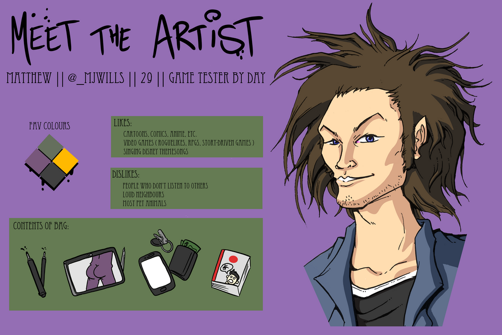 Meet the Artist by MatthewJWills