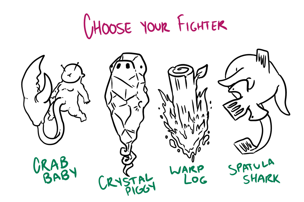 Choose Your Fighter R1-2 by MatthewJWills
