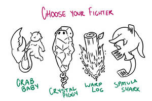 Choose Your Fighter R1-2 by mjwills