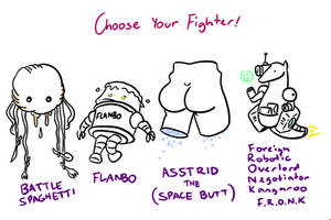 Choose Your Fighter R1-3 by mjwills