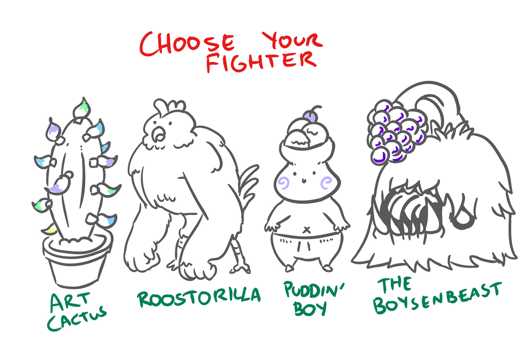 Choose Your Fighter R1-4 by MatthewJWills