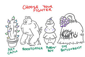 Choose Your Fighter R1-4 by mjwills