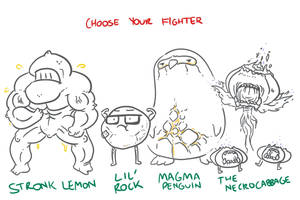 Choose Your Fighter R3-1 by mjwills