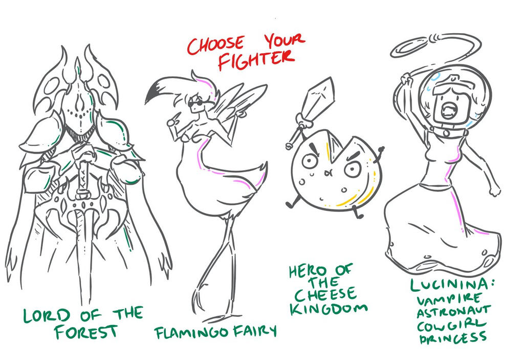 Choose Your Fighter R3-4 by MatthewJWills