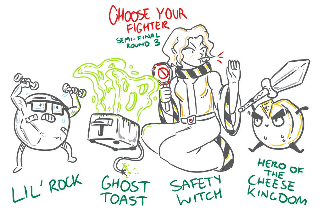 Choose Your Fighter R3-Finals by MatthewJWills