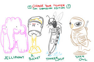 Choose Your Fighter R4-4 by mjwills