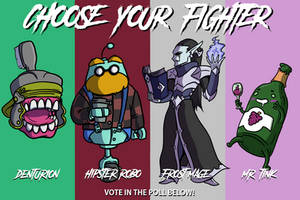 Choose Your Fighter S2 R3-3 by mjwills