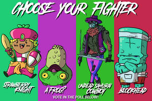 Choose Your Fighter S2 R3-4 by mjwills