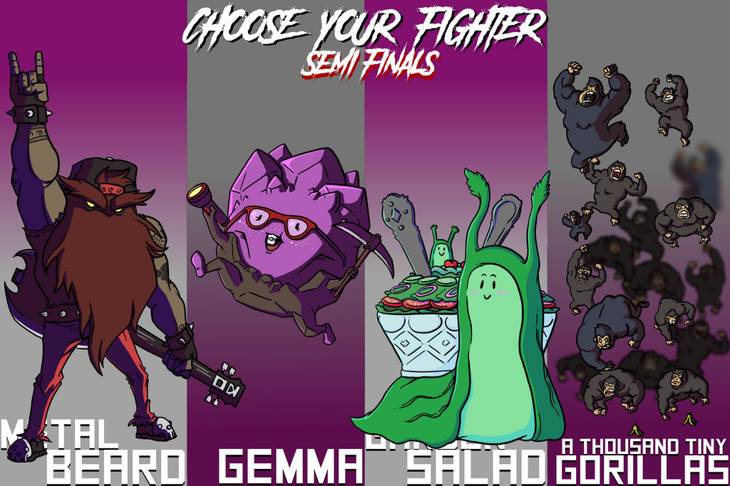 Choose Your Fighter S2 Semi Finals 3 by mjwills