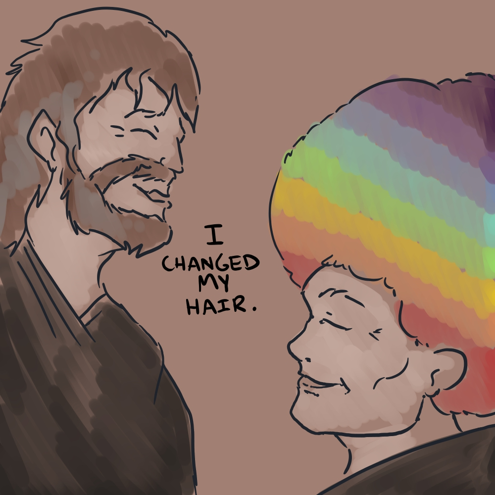 I Changed My Hair by mjwills