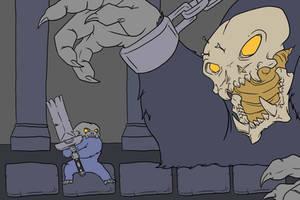 Gamedev Concept - Broken Bones by mjwills