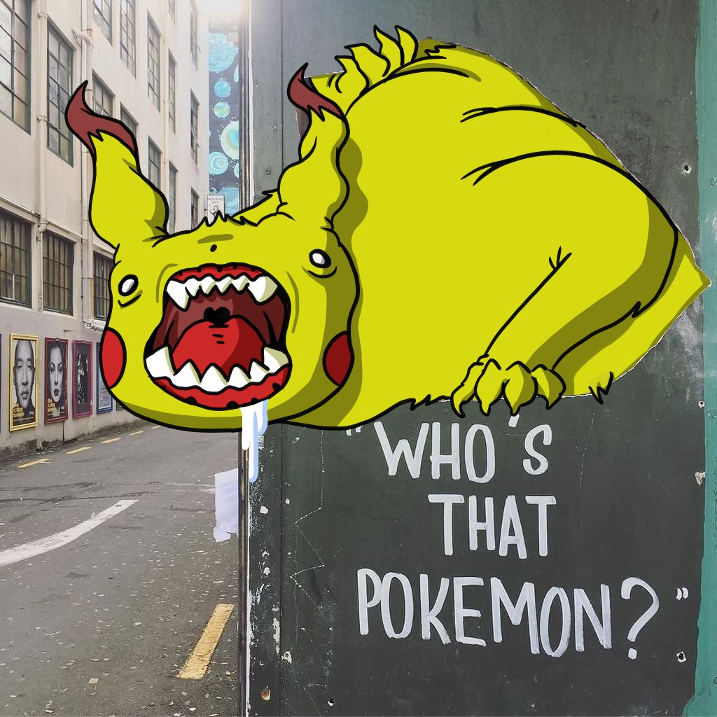 Who's That Pokemon? by mjwills