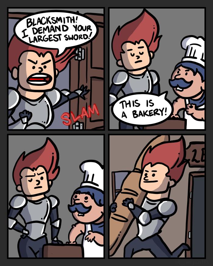 Swords I by mjwills