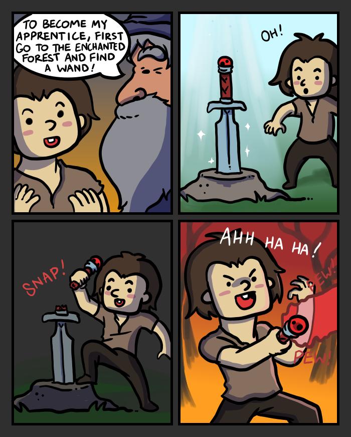 Swords II by mjwills