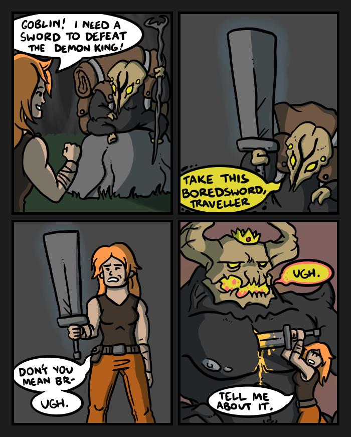 Swords IV by mjwills