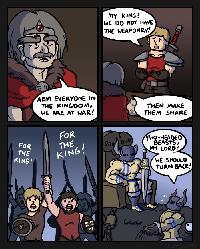 Swords V by mjwills
