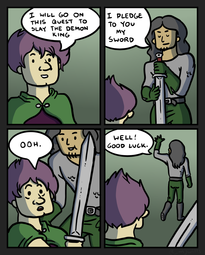 Swords VI by mjwills