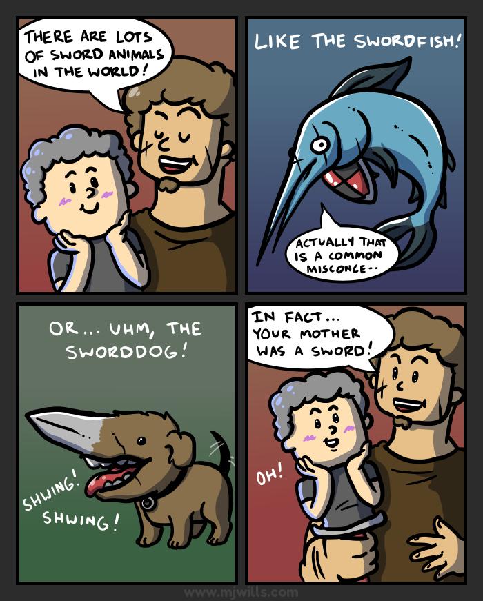 Swords VII by mjwills