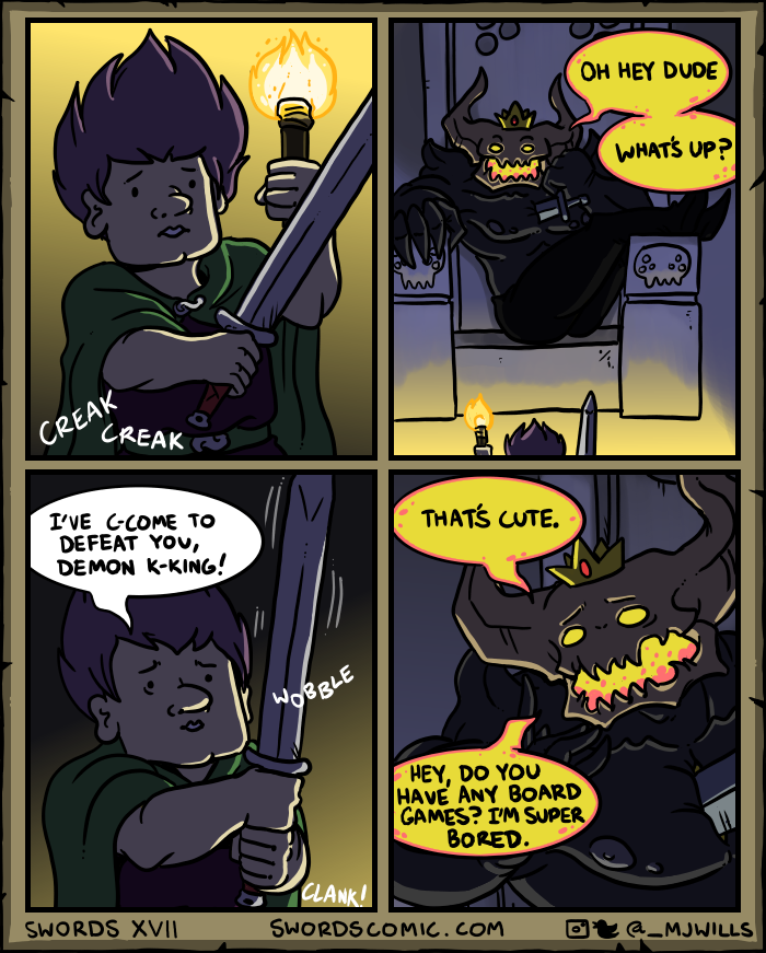 Swords XVII by mjwills