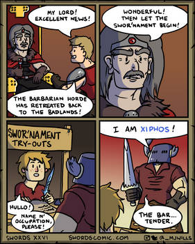 Swords XXVI