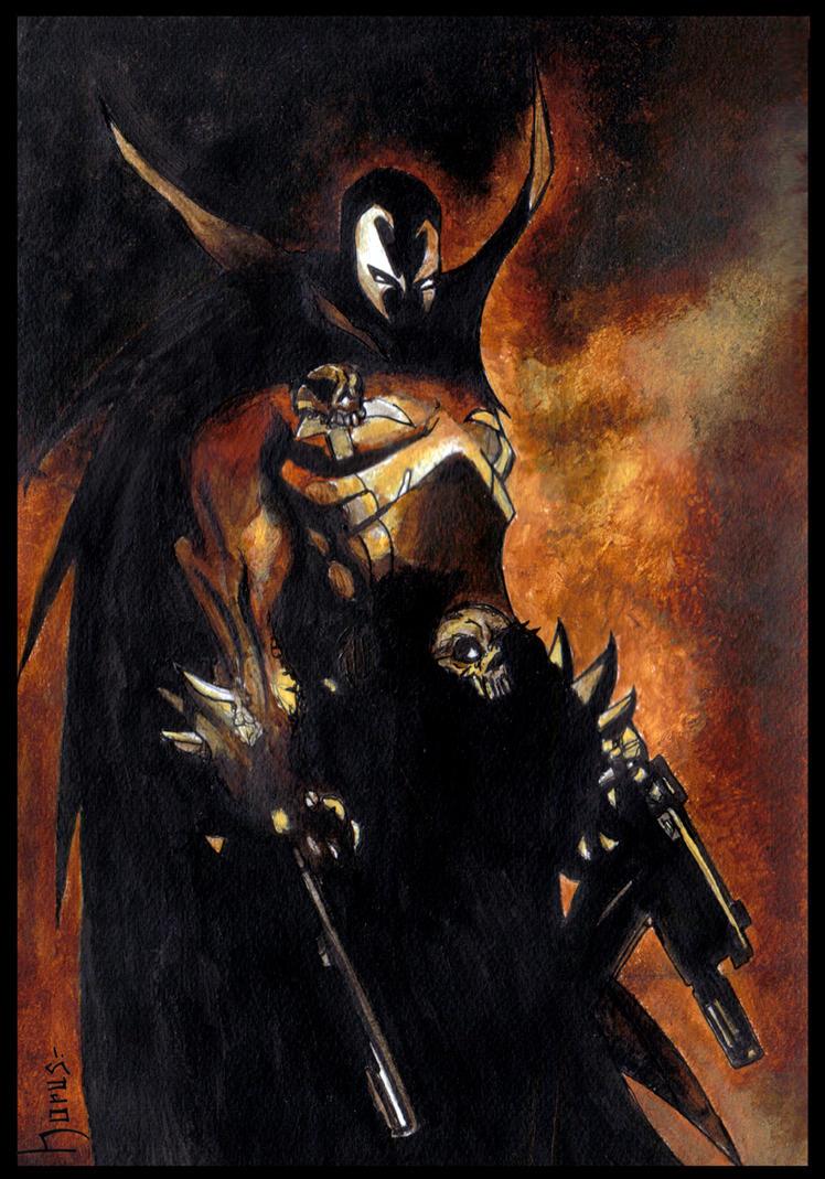HellSpawn By Horus Ilustraciones