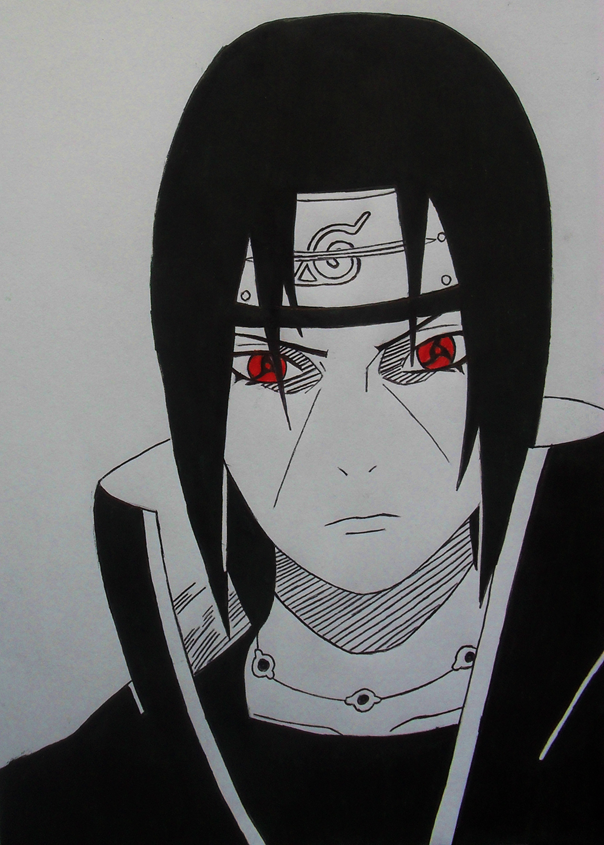 Itachi Uchiha By Amaterasu-93 On DeviantArt
