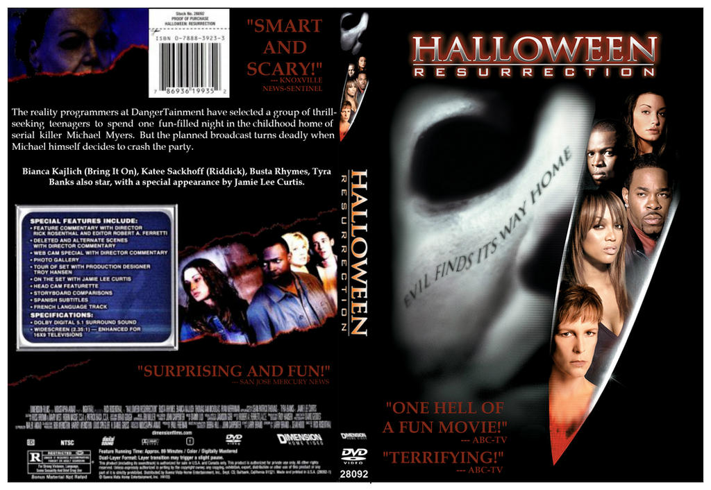 Halloween: Resurrection DVD Cover by dvdcovers on DeviantArt