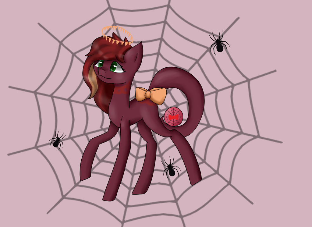 Ribbonweb Commission by MintyWaffle