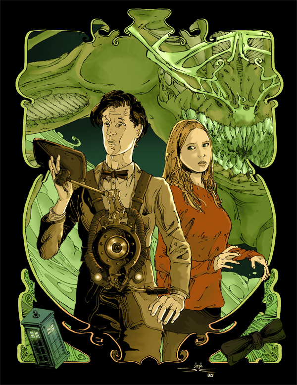 Doctor Who by abc142