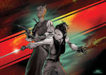 Doctor Who : Vastra and Jenny
