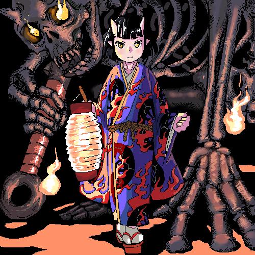 OniJapanese Orge By Sebastian17th