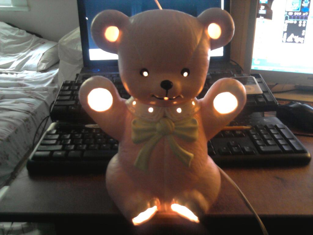 Teddy Bear Light by moshie9956